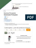 L'Interrogation... Poser Des Questions en Français
