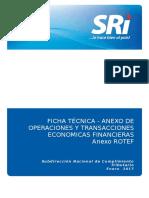 Ficha Tecnica RTF 2017