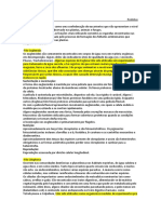 Resumo de Protistas e Poriferas