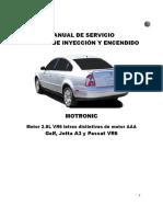 2.8L. VR6 Jetta A3 y Passat VR6 -Sistema de Inyección y Encendido. VR6 Jetta A3 y Passat VR6 -Sistema de Inyección y Encendido.pdf