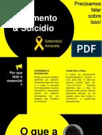Sofrimento & Suicídio