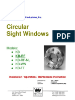 Circular Sight Glass