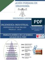 2. Legislación Peruana en SST