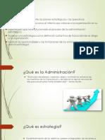 Proceso de Administracion Estrategica Xd
