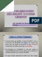 Fases de Ejecución Del Delito-iter Criminis