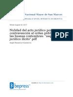 Nulidad Del Acto Juridico Por Contravencion Al Orden Publico y a Las Buenas Costumbres Negocio Juridico Ilicito._stamped
