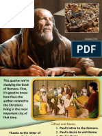 4th Quarter 2017 Lesson 1 The Apostle Paul in Rome Powerpoint Presentation