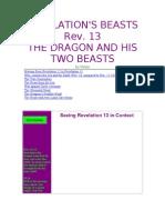 Revelation's Beast v 13