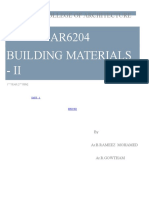 Building Materials Notes UNIT 1