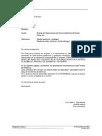 Carta Puente Pongo Isla 03-10-17 Rev. A