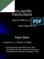 Clase Ix Wisc III Vch i