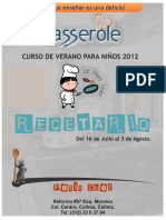 Recetario 'Le Petit Chef' 2012