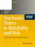Li, Li - 2013 - Stochastic Orders in Reliability and Risk