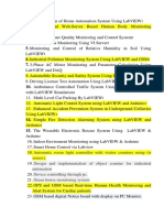 LaBVIEW + Arduino list