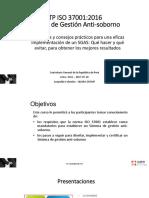 Curso ISO 37001 - Practicas Anticorrupción- 2017-07-24