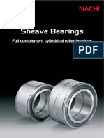 Sheave Bearings (Cylindrical Roller Bearings)