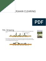Pekerjaan Clearing Dan Timbunan