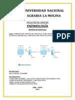 Purificación Parcial de Fosfatasa Ácida de Hígado de Pescado (Sulfato de Amonio)