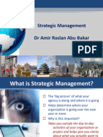 Strategic Management Amir Raslan Abu Bakar