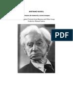 Russell Bertrand - Retratos De Memoria Y Otros Ensayos2.doc