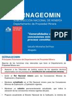9 - Concesiones y Propiedad Minera - S.montalva - Sernageomin
