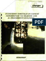 Ecosistemas Forestales en Cuencas Hidrográficas y su relación con el ordenamiento ecológico
