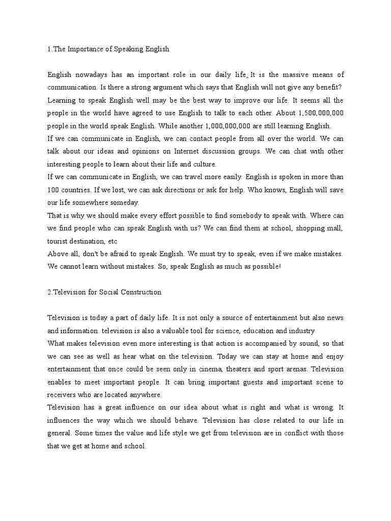 Hortatory Text English Language Tourism