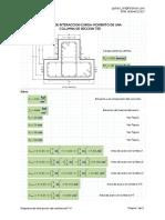 Diagrama P-M Columna TEE E060 V1.0