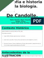 Filosofia e Historia de La Biologia.-1