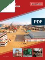 Chalmers Steel - Abu Dhabi Yard Flyer 2016