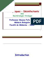 Antiseptiques Desinfectants CES