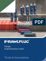 RAWL PLUG Design & Specification Guide_2016