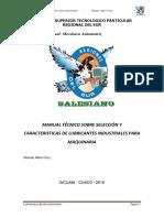 Manual Lubricantes Romao-IsTPRS
