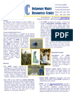 Delaware Water Resources Brochure