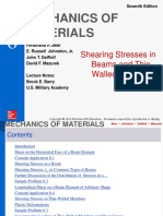 6 Shearing Stresses