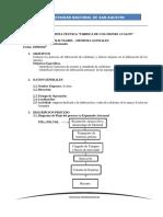 Informe Visita Tecnica Fabrica de Colchones