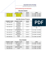 2nd Year MTA Schedule Updated