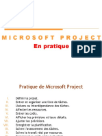 MSproject en Pratique