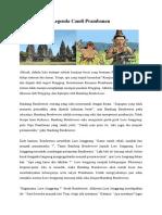 Legenda Candi Prambanan PAR 1