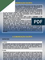 3.1.1 Regras Para Uma Comunicação Escrita Eficaz