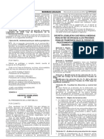 Decreto Legislativo Que Regula Medidas Para Dotar de Eficacia al Decreto Legislativo N° 1206