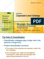 Corporate Level Sales Strategy