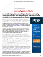 Psychometric Test Basics