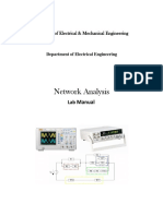 NEtwork Analysis Lab Manual