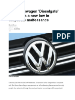 The VW Dieselgate Scandal_a New Low in Corporate Malfeasance