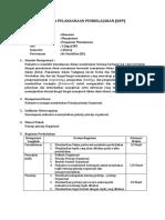 Rencana Pelaksanaan Pembelajaran Prinsip-prinsip Organisasi