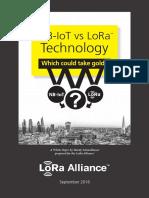 LoRa vs IoT-NB