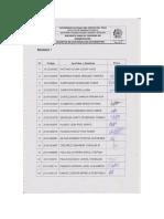 Registro de Asistencia de Estudiantes, Docentes y Administrativos Encuestados