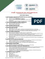 Acid Oxalic p.a. Fişă Tehnică de Securitate
