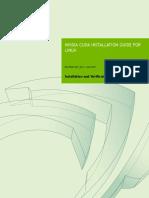 CUDA8.0 Installation Guide Linux
